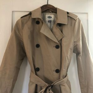 Old Navy woman's trench coat